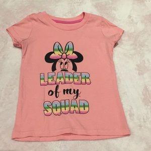 Disney minnie mouse shirt size xs